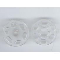 Кнопка пластиковая пришивная 15 мм  (1000 штук)