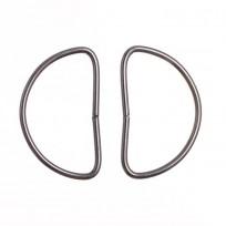 Полукольцо метал 3 см (100 штук)