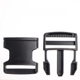 Карабин-фаст 4 см черный (100 штук)