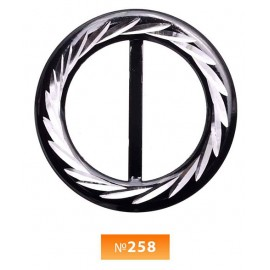 Пряжка метал №258 (100 штук)