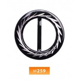 Пряжка метал №259 (100 штук)