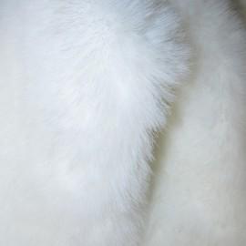 Мех искусственный Кролик белый (метр )