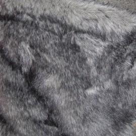 Мех искусственный Кролик темно-серый (метр )