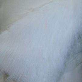Мех искусственный Песец белый (метр )