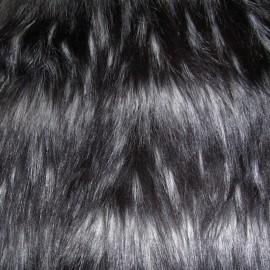 Мех искусственный Чернобурка полоса (метр )
