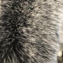 Мех искусственный Ежик полированный (метр )