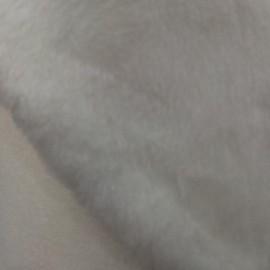 Мех искусственный Мутон белый облегченный (метр )