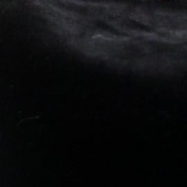 Мех искусственный Мутон черный 6-8мм (метр )