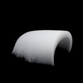 Плечевые накладки (подплечники) поролоновые прямые 25мм 200 (200 пар)