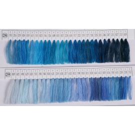 Нитки швейные цветные 40(2) Евростиль (3700м) (12 штук)