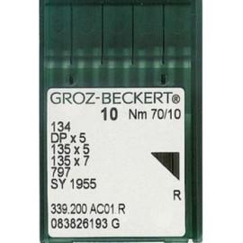 Иглы Groz-Beckert с толстой колбой DPx5 (100 штук)