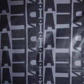 Ткань плащевка ромбы буквы (метр )