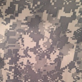 Ткань сумочная 600Д PVC пиксель светлый (метр )