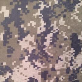 Ткань сумочная 600Д PVC пиксель темый (метр )