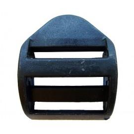 Пряжка пластик трехщелевая 2,5см (100 штук)