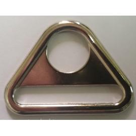 Треугольник металл для карабина и ленты 4см литой (100 штук)
