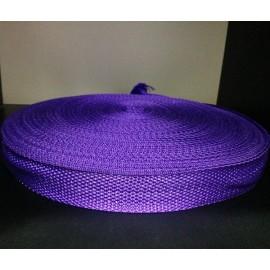 Тесьма ременная 900D 2,5см фиолетовый (100 метров)