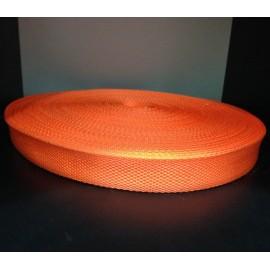 Тесьма ременная 900D 2,5см оранжевый (100 метров)