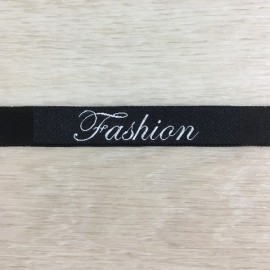 Этикетка тканная (жаккардовая) 10мм Fashion (100 метров)