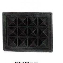 Ножка резиновая для сумок ежик 48х38мм (100 штук)