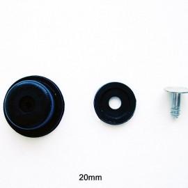 Ножка пластиковая для сумок 20мм (1000 штук)