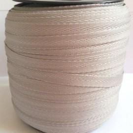 Тесьма лента  киперная 10мм №523 серый (250 м)