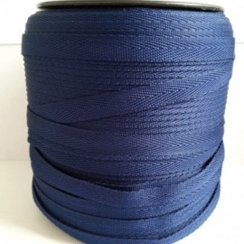 Тесьма лента  киперная 10мм №569 темно синий (250 м)