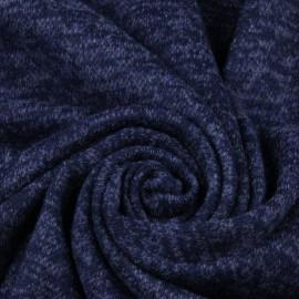 Ткань трикотаж ангора софт темно синий (метр )