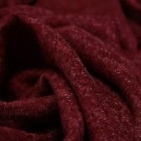 Ткань трикотаж ангора софт бордо (метр )