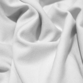 Ткань трикотаж джерси белый (метр )