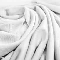 Ткань трикотаж кукуруза белый (метр )