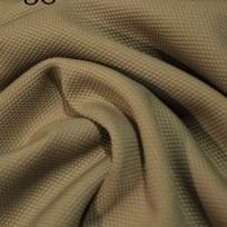 Ткань трикотаж кукуруза бежевый (метр )