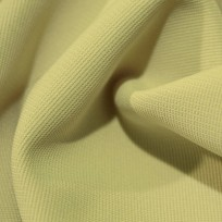 Ткань трикотаж оттоман (рубчик) айвори (метр )