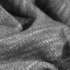 Тканьтрикотаж софт меланж серый (метр )