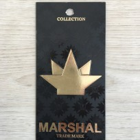 Этикетка картонная 5смх10см Marsh под заказ (1000 штук)